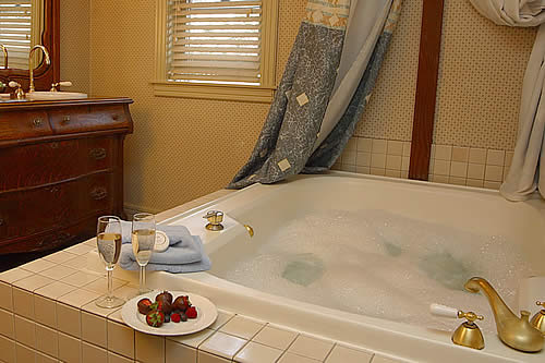 spa tub hennessey house napa california wine country bed and breakfast inn