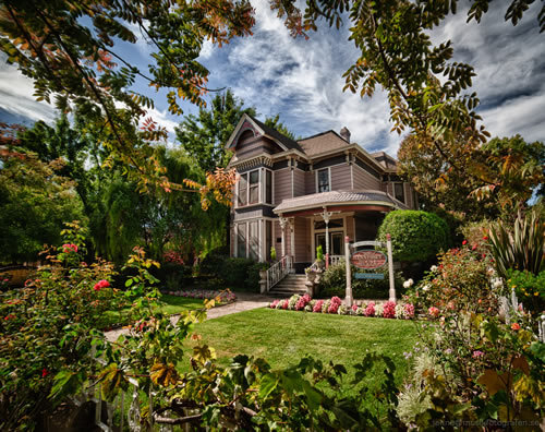 hennessey house napa california - dreamy photo of inn front